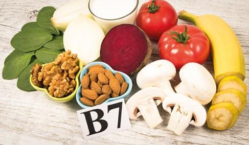 B7 haltige Lebensmittel. Schöne Haarpracht