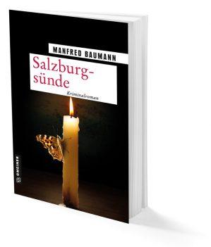 buch. Salzburgsünde Cover auf weißem Hintergrund. Büchertipps