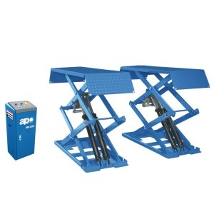 APO-B30/B30Y 6,600 Lbs. Capacity Small Platform Full Rise Scissor Lift Surface Mounted Type
