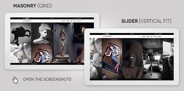 Hypershot - Photography Portfolio WordPress Theme - 7