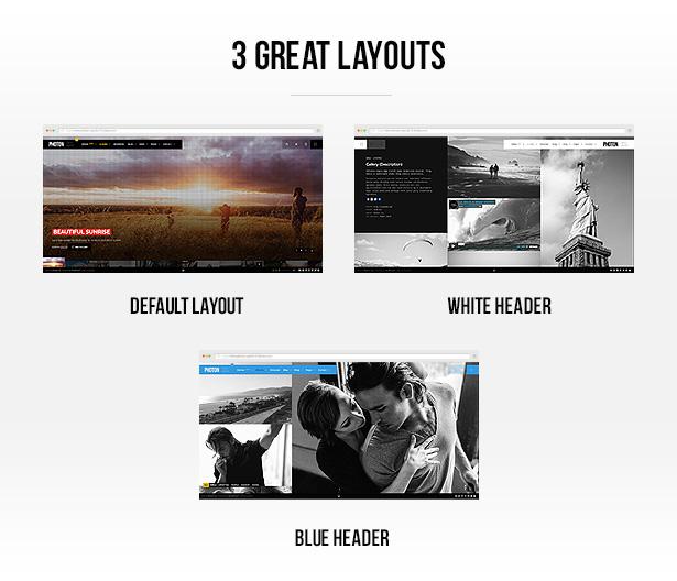 Photon | Fullscreen Photography WordPress Theme - 4