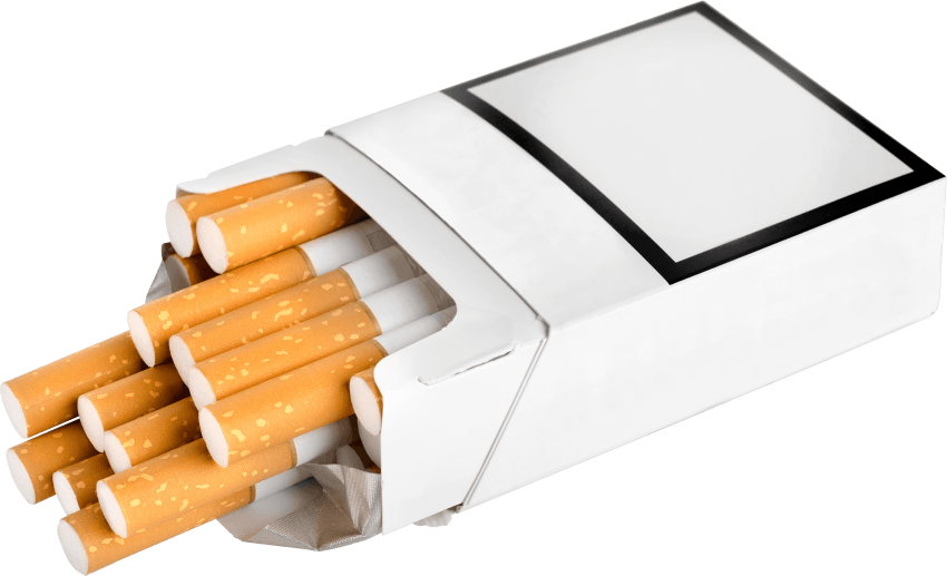 the average cigarette has 12 mg of nicotine
