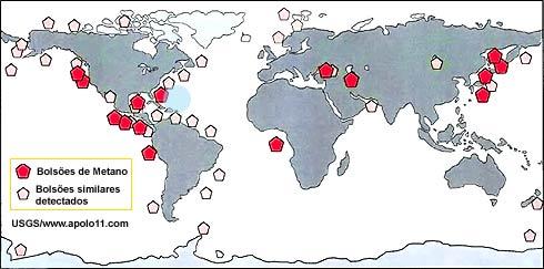 Mapeamento de hidratos de metano no Triângulo das Bermudas