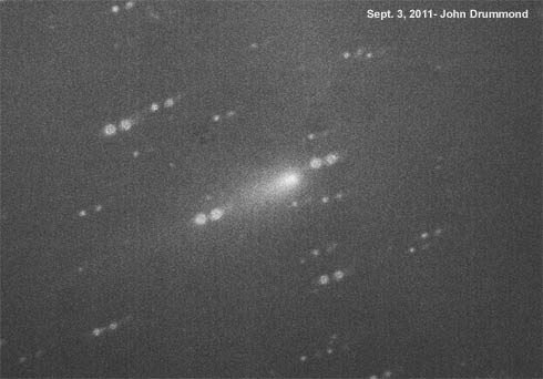 cometa Elenin em 3 de setembro de 2011