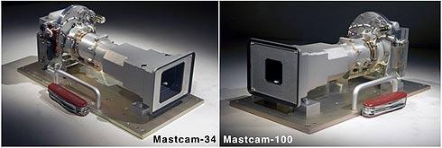 Curiosity Mast cam