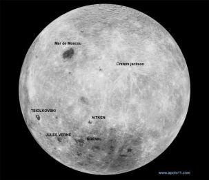 Resultado de imagem para lado oculto da lua