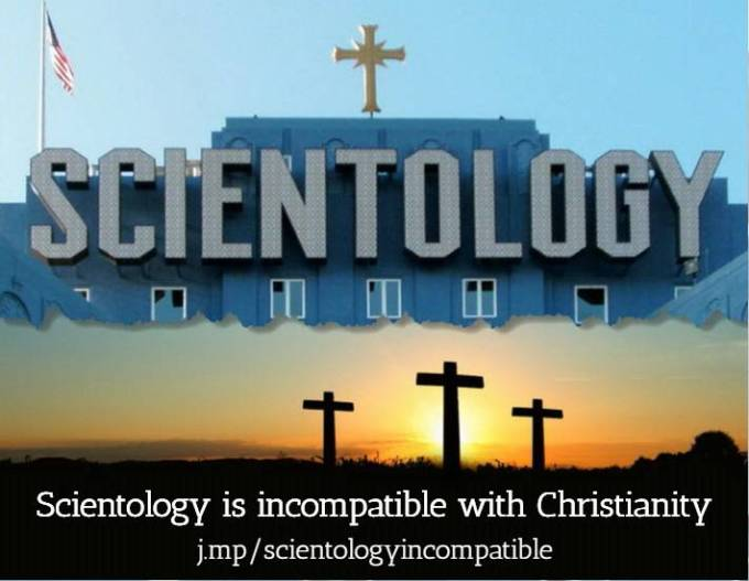 Scientology not compatible with Christian faith