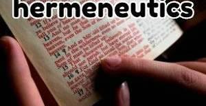 hermeneutics rules