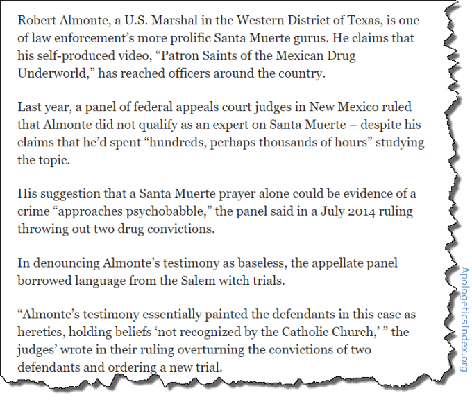 United States Marshal Robert R. Almonte