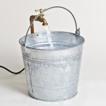 bucket with water
