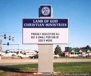church isgn