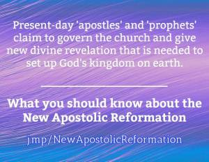 NAR New Apostolic Reformation