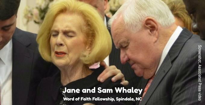Jane and Sam Whaley