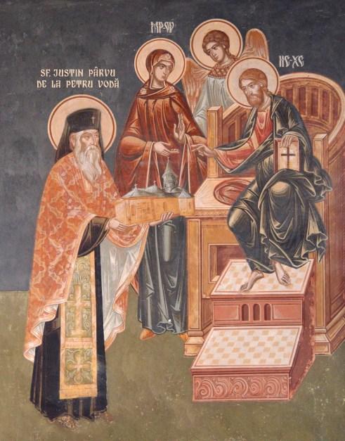 Sfantul Justin Parvu de la Petru Voda