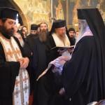 VIDEO: Hirotesia întru stareț al Mănăstirii Petru Vodă a părintelui protosinghel Hariton Negrea