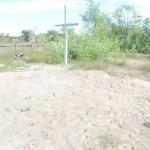 La Periprava au fost deja acoperite gropile cu osemintele foștilor deținuți, fără a fi reînhumate creștinește