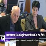 Directorul Institutului Geologic, Ştefan Marincea, demis pentru că nu este de acord cu exploatarea de la Roșia Montană