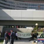 Protest românesc anti-gaze de șist la Națiunile Unite din Viena