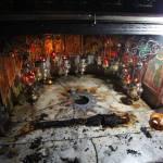 Incendiu la Peștera Nașterii Domnului din Betleem, la câteva ore de la vizita ereticului papa Francisc I