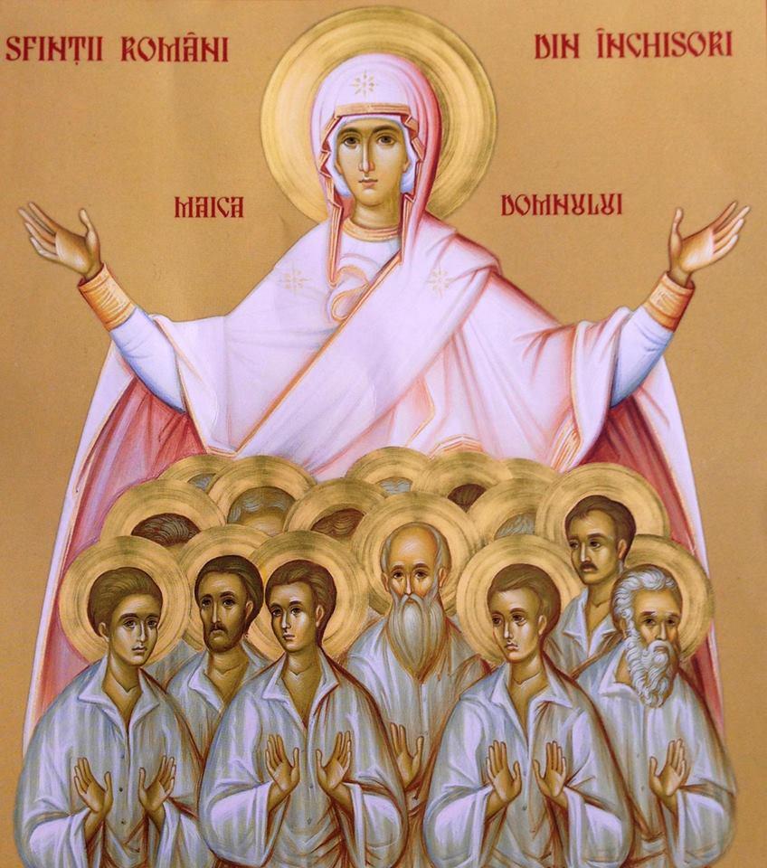 Maica Domnului cu sfintii de la Aiud