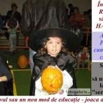 Învăţământul din Romania şi duhul demonic. Halloween sărbătorit în şcoli mai mult decât sărbătorile româneşti