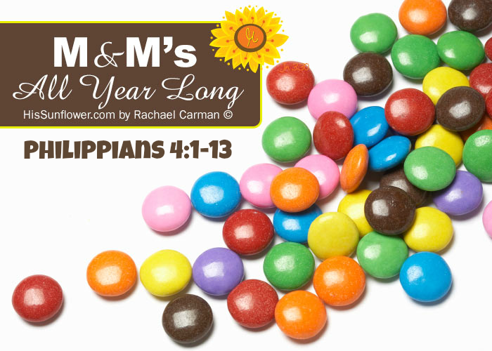 Memorize & Meditate (M&M) Philippians 4:1-13 {January 2015}
