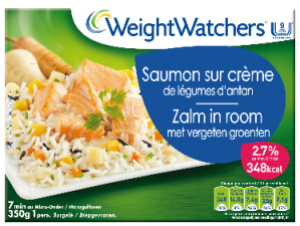 saumon sur crème weight watchers