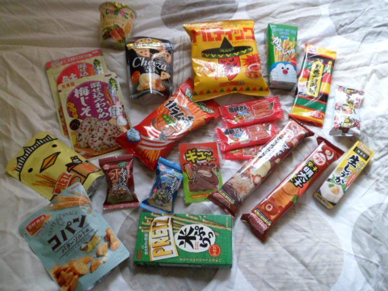 snacks salés japon