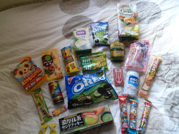 snacks sucrés japon