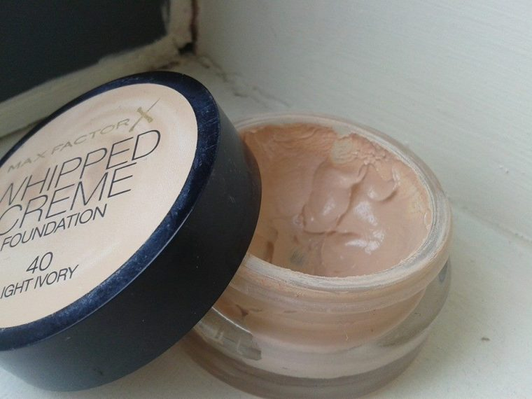 whipped creme max factor