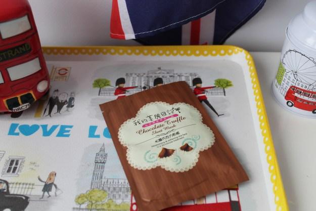 my beauty diary chocolate truffle