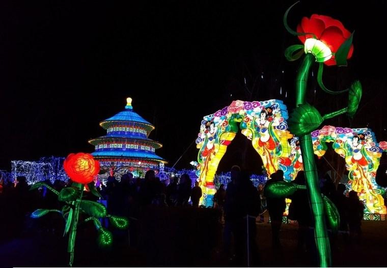 festival des lanternes gaillac vue