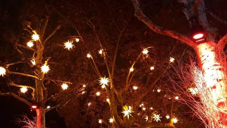 étoiles illuminées strasbourg
