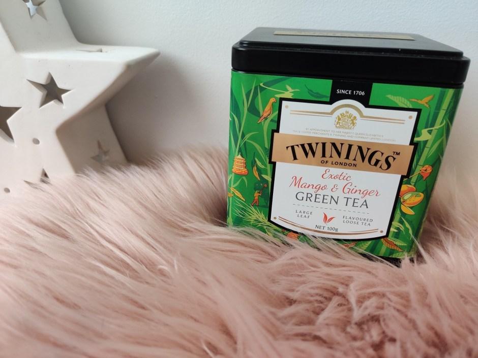 mango exotic ginger twinings