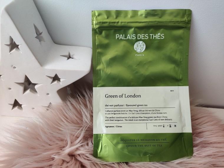 thé green of london palais des thés