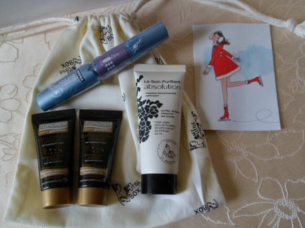 produits de beauté my little santa box