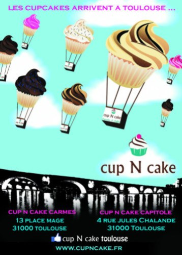 cup n cake affiche