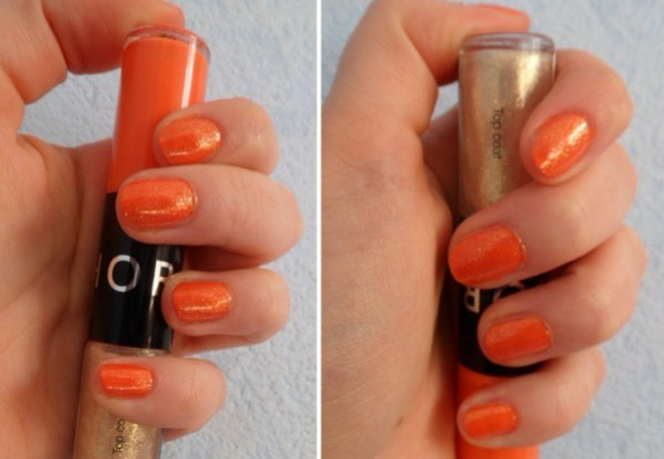 duo vernis orange sephora