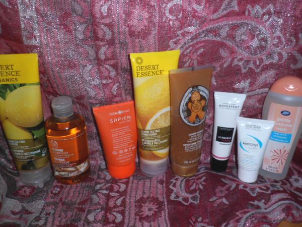produits douche quotidiens