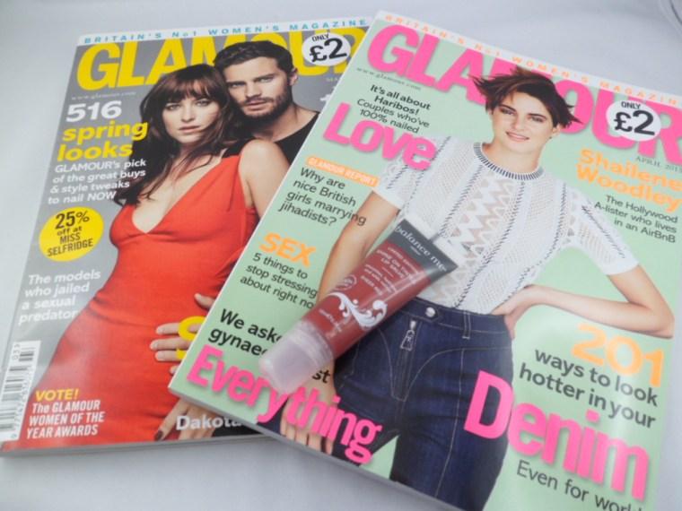 glamour magazines
