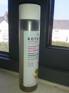 eye make up remover boots botanics