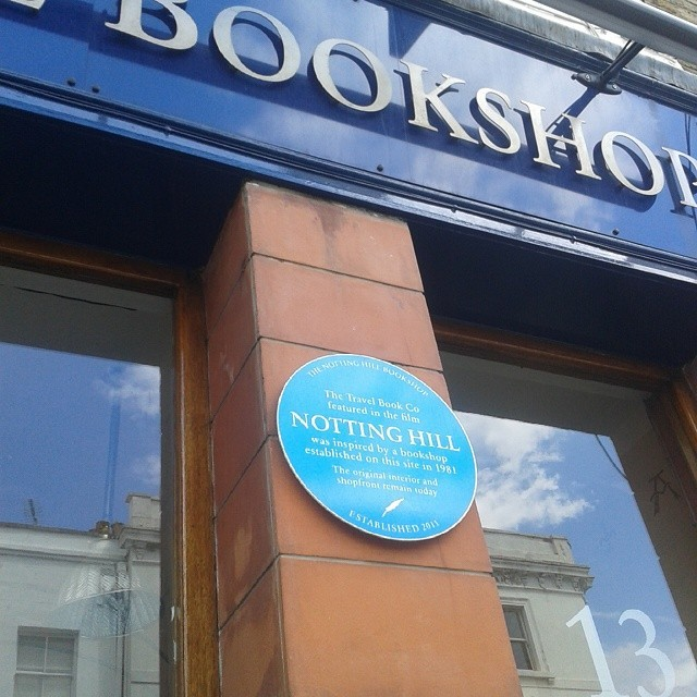 real bookshop notting hill