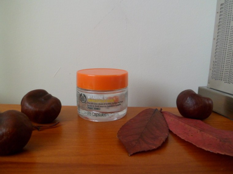 capsules vitamine c body shop