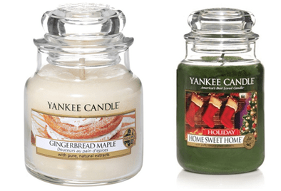 bougies hiver yankee candle