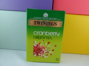 green tea twinings cranberry