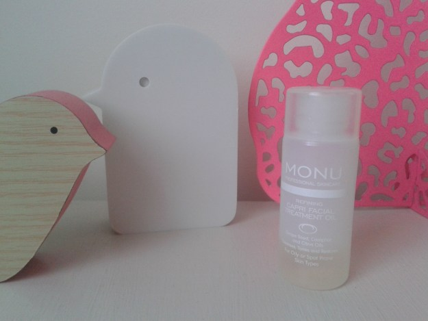 monu refining capri treatment oil