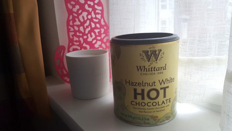 chocolat blanc noisette whittard