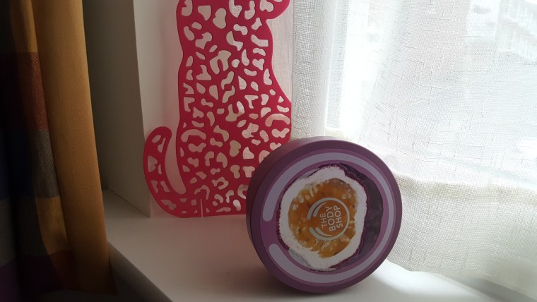beurre corps passion the body shop