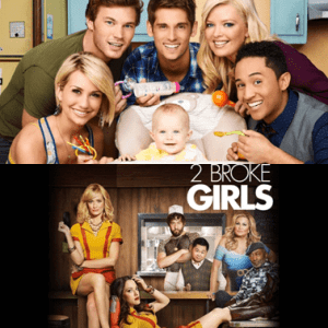 baby daddy 2 broke girls