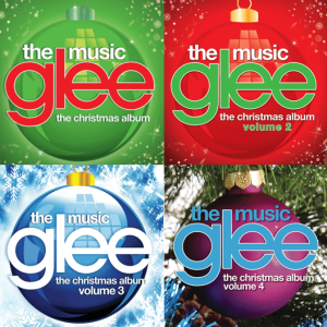 glee music christmas